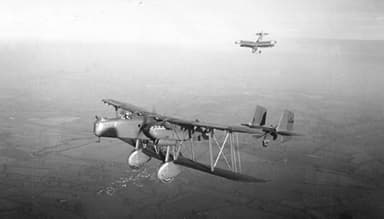 Handley Page HP.30 Heyford Heavy Night Bomber
