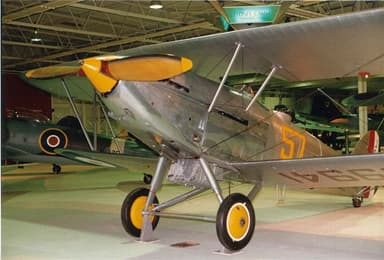 Hawker Hart II G-ABMR, RAF Museum in 2007