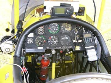Instrument Panel of a Pietenpol Air Camper