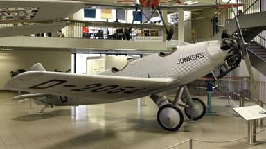 Junkers A50ci in Deutsches Museum Munich