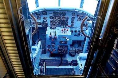 Junkers Ju 52 Passenger Variant Cockpit Layout