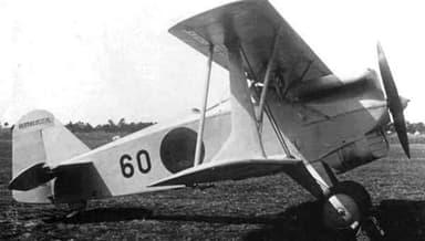 Kawasaki KDA-5 (Type 92) in the 1930s