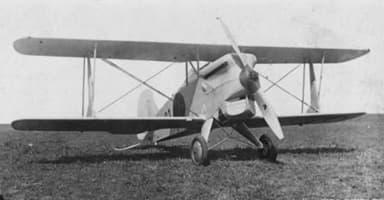 Kawasaki Type 92 Fighter Biplane
