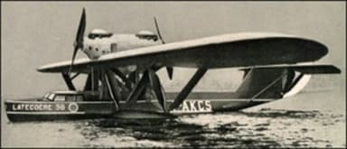 Latécoère 380 Flying Boat Airplane