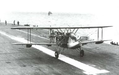 Levasseur PL.10 Landing on Aircraft Carrier