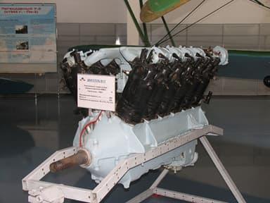 Mikulin M-17 Licensed Copy of BMW VI V-12 Liquid-Cooled Piston Engine