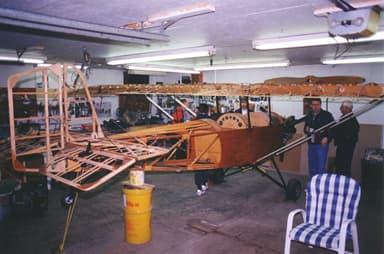 Pietenpol Air Camper Before Adding Covering