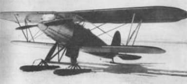 Polikarpov I-3 with Ski Plane Undercarriage