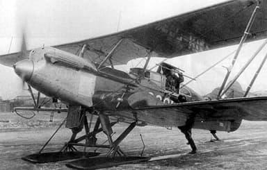 Polikarpov R-5 Civilian Version with Enlarged Rear Cockpit (1930)