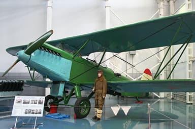 Polikarpov R-5 Military Version at Russian Air Force Museum, Monino, Russia