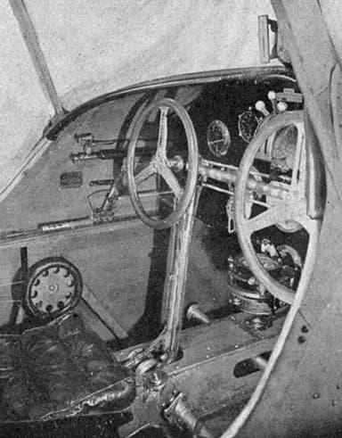 Potez 32 Cockpit L'Aéronautique March 1928