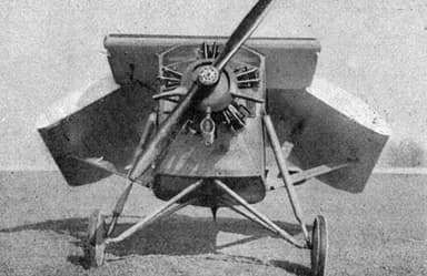 Potez 36 with Folded Wings L'Aéronautique May, 1929