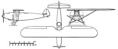 Potez 39 3-View NACA Aircraft Circular No.114