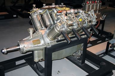 Preserved Curtiss OX5 Engine