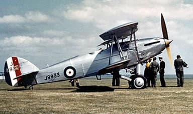Preserved Hawker Hart G-ABMR