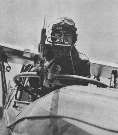 Rear Gunner Position on Mitsubishi B2M Torpedo Bomber