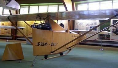 Rear View of RRG Raketen-Ente Deutsches Segelflugmuseum
