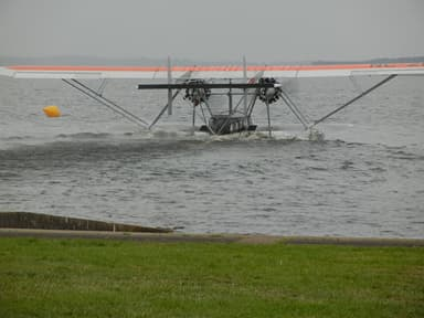 Replica Sikorsky S-38 Taking Off