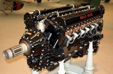 Rolls-Royce Kestrel VI V-12 Water-Cooled Piston Engine