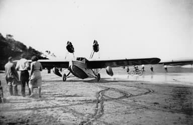 Saro Cutty Sark Amphibious Plane (State Library of Queensland)