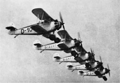 Squadron of Arado Ar 64Es