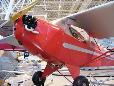 Taylor E-2 Cub at the Canada Aviation and Space Museum in Ottawa, Ontario