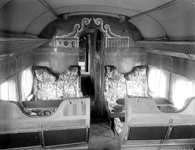 The Cabin of a Handley Page H.P.42/45 in 1931