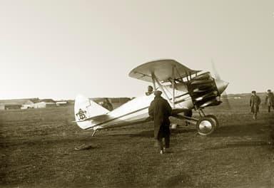The First Polikarpov 1-5 Prototype, the VT-11 After Test Flight