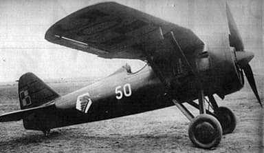 The PZL P.7 High Gull Wing Fighter