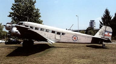Unrestored Junkers JU 52 in 2005