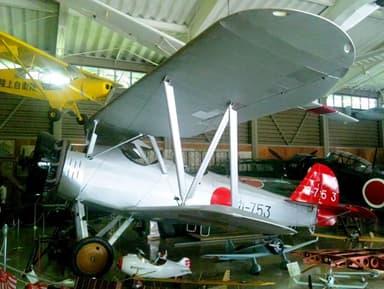 Yokosuka K5Y Replica at Kawaguchiko Motor Museum, Yamanashi Prefecture